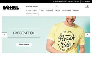 Herrenkontor Webseiten Screenshot
