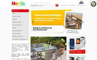 Hertie Webseiten Screenshot