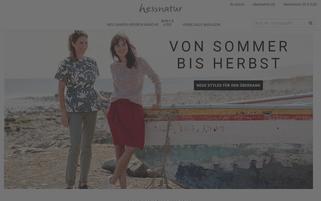 Hessnatur Webseiten Screenshot