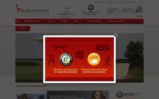 Heute Wohnen Webseiten Screenshot