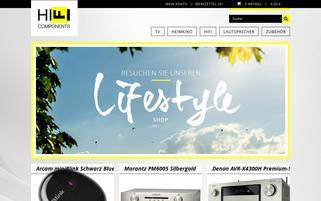 HIFI Components Webseiten Screenshot
