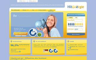 HitEnergie Webseiten Screenshot
