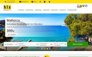 HLX Webseiten Screenshot