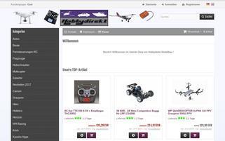HobbyDirekt Webseiten Screenshot