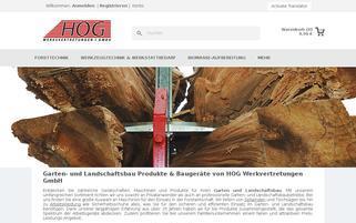 hoggmbh.de Webseiten Screenshot