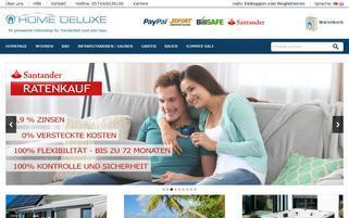 home-deluxe-gmbh.de Webseiten Screenshot