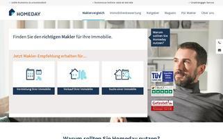 homeday.de Webseiten Screenshot
