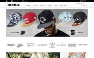hoodboyz.fr Webseiten Screenshot