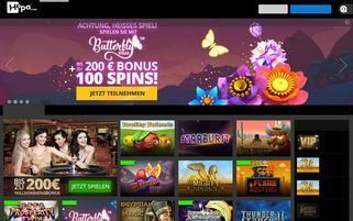 Hopa Webseiten Screenshot