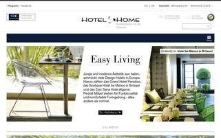 Hotel4home Webseiten Screenshot