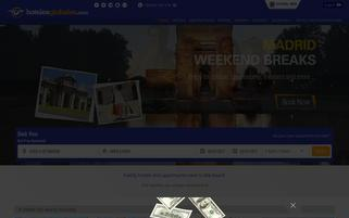 Hoteles Globales Webseiten Screenshot
