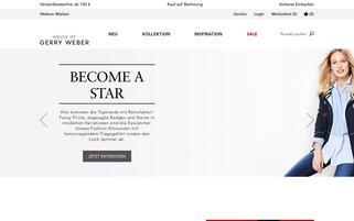 house-of-gerryweber.at Webseiten Screenshot