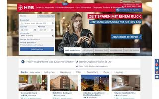 hrs.de Webseiten Screenshot