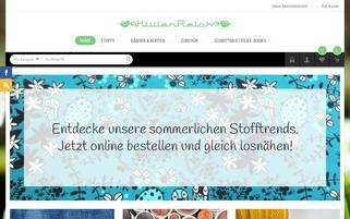 huellenreich.de Webseiten Screenshot
