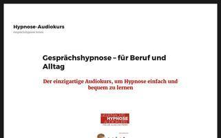 hypnose-audiokurs.de Webseiten Screenshot