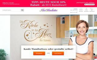 I-love-Wandtattoo Webseiten Screenshot