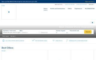 Iberostar Webseiten Screenshot