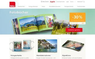 ifolor.at Webseiten Screenshot