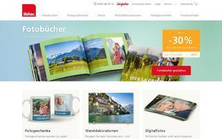 Ifolor Webseiten Screenshot