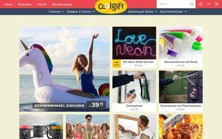 iGeschenke Webseiten Screenshot