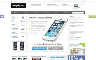 iHelpStore Webseiten Screenshot