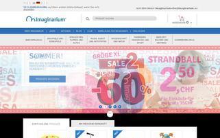 Imaginarium Webseiten Screenshot