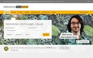 Immowelt Webseiten Screenshot