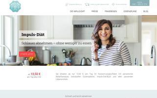 Impuls Diät Webseiten Screenshot