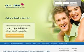 in-ist-drin.de Webseiten Screenshot
