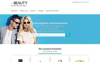 InBeauty Webseiten Screenshot