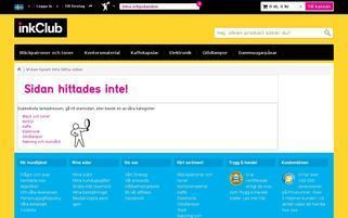 inkClub Webseiten Screenshot