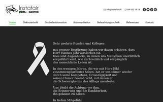 Instafair Webseiten Screenshot