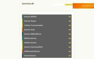 Interioo Webseiten Screenshot