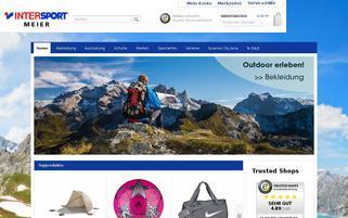 Intersport Jena Webseiten Screenshot