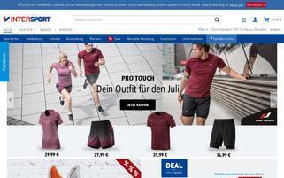 Intersport Webseiten Screenshot
