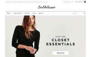 InWear Webseiten Screenshot
