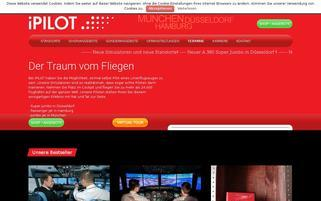 iPilot Webseiten Screenshot