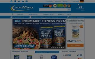 IronMaxx Webseiten Screenshot