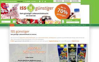 iss-guenstiger.de Webseiten Screenshot