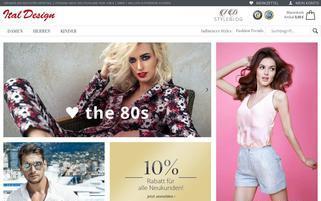 Ital Design Webseiten Screenshot