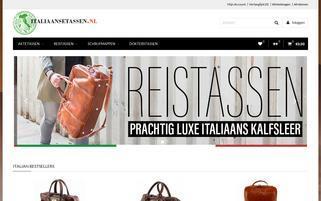Italienischetaschen.de Webseiten Screenshot