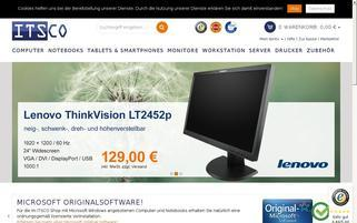Itsco Webseiten Screenshot