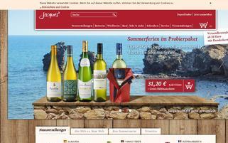 Jacques Webseiten Screenshot