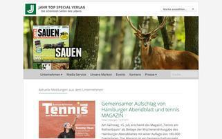 jahr-tsv.de Webseiten Screenshot