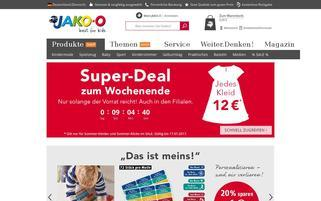 jako-o.de Webseiten Screenshot