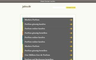 jalea.de Webseiten Screenshot