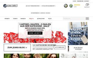 jeans-direct.de Webseiten Screenshot