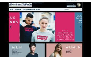 Jeans Kaltenbach Webseiten Screenshot