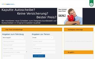 JedeAutoscheibe.de Webseiten Screenshot