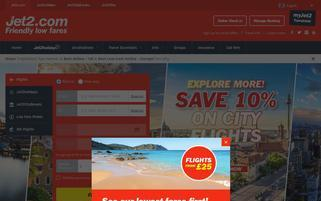 Jet2.com Webseiten Screenshot